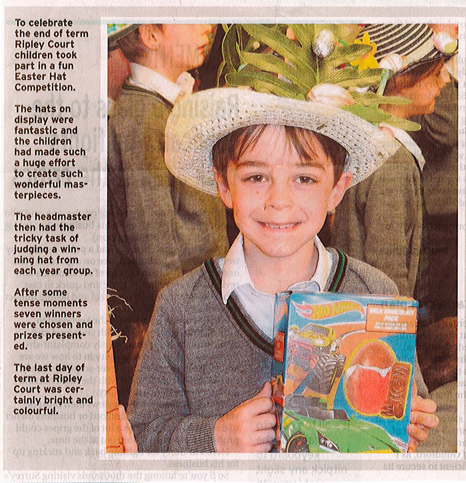 Surrey Advertiser   Easter Hat Competition   Easter Weekend 2017