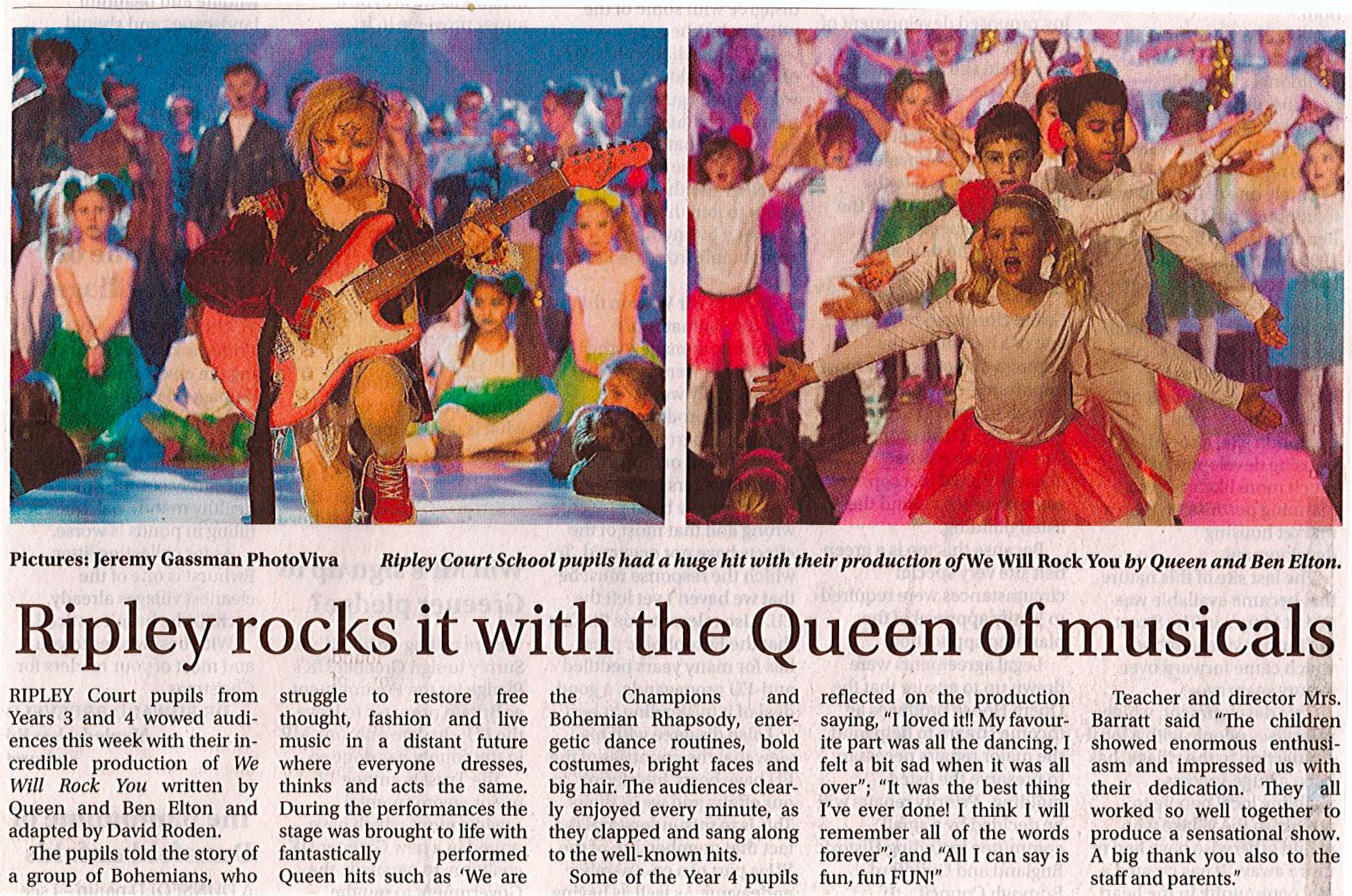 Woking News and Mail   We Will Rock You   22 December 2016