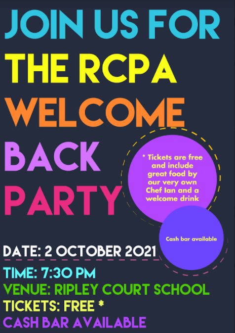 Events   Welcome Back Party